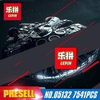 Wholesale Ultimate Models - Lepin 05132 7541PCS The Ultimate Collector's Model Destroyer Kits 75192 Building Blocks Bricks Children Toys christmas Gifts