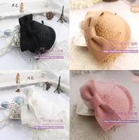 Wholesale Cheap Hair Bows Free Shipping - Hot Cheap Bridal Veil And Headpieces Free Shipping Hat Clip Accessories For Christmas Party Wedding Dresses Hair Wear