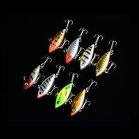 """Wholesale Hard Lures Lipless - Hot! 8 Colour MINI Sinking Rattling Wiggler VIB Lipless Crankbaits Hard Fishing Lures Vibe Vibration Rattle Hooks 2.75g 4cm  1.57"""" DHL"""