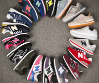Wholesale Drop N Ship - Drop Shipping N Leather Size 36-44 men and women lace-up Casual Shoes Couples sneakers N shoes More colors