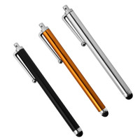 stylus for asus tablet venda por atacado-Atacado-3Pcs Capacitivo Touch Screen Phone Tablet Stylus para Asus Zenfone 3 ZE552KL / Zenfone 3 Deluxe ZS570KL / Zenfone 3 Ultra ZU680KL