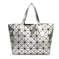 Tienda De Celosía Baratos-Nuevo Bao Bao Lattice Ladies Issey Bolso geométrico Diamond Fashion Handbag Bolso de hombro de lujo Top Design Shopping Bag