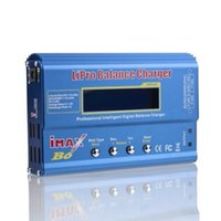 Wholesale Imax B6 12v Battery Charger - 100 pieces IMAX B6 Digital RC Lipo NiMh Battery Balance Charger AC POWER 12V 5A Adapter 2S-6S 7.4V-22.2V
