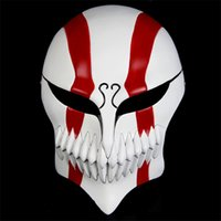 Wholesale Best Mask Designs - Factory Direct Sales Fancy Death Kurosaki IchigoHollowificationMovies Theme Top Grade Best Designed Popular Mask Made by Resin Material