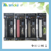 Wholesale Ego Variable Blister Pack - Ego c twist blister pack twist battery variable ce4 starter kit ego t ce4 blister kit wholesale 650 900 1100mah ego twist blister