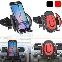 Wholesale Dash Holder - Car CD Dash Slot Mount Holder Dock Clip For iPhone 7 Samsung Galaxy S7 Edge S6 S8 plus Note 5