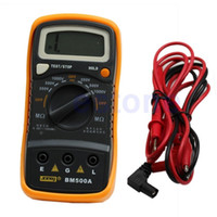 Wholesale Digital Insulation Resistance Tester Meter - BM500A 1000V 1999M Digital Insulation Resistance Tester Meter Megohmmeter Megger