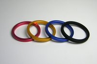 Wholesale Erection Rings - A049 aluminum orgasm delay ring lock erection ring penis ring metal cock rings sex toy for man