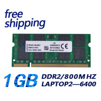Wholesale Ddr2 1gb - ddr ram for laptop ddr2 1gb 800mhz pc2-6400 sodimm free shipping with lifetime warranty