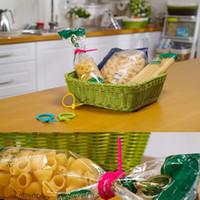 cravate de pain achat en gros de-Attaches pour sacs en silicone de qualité alimentaire, Gestion des câbles, Attache pour attaches tout usage, Attache pour sacs tout usage à usages multiples, Attache pour pain, Économiseur d'aliments