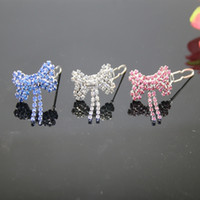 Wholesale Bones Seasons - wholesale new arrivals !luxury rhinestone bone accessory for dog hairwear ornaments for dogs jewelry white, pink,blue colo
