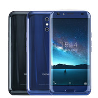 Wholesale Android Phone Fhd - DOOGEE BL5000 mobile phones 5050mAh Dual 13MP Cameras 5.5'' FHD MTK6750T Octa Core 8 Curves 4GB+64GB Android 7.0 LTE smartphone