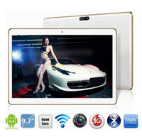 Wholesale inch android 4.2 tablet pc resale online - DHL inch tablet mtk6592 Octa core G GPS Android GB GB Dual Camera MP IPS Screen