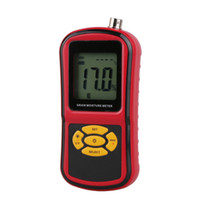 Wholesale Moisture Measuring - GM640 Digital LCD Moisture Meter with Measuring Probe Tester for Corn Wheat Rice Bean Wheat Hygrometer Moisture Instrument