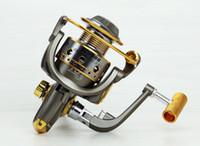 carretéis de pesca voam rodas venda por atacado-Novo modelo Carretel de pesca carretel de Alumínio Spinning fly rock carretilhas de pesca isca fundição barco roda