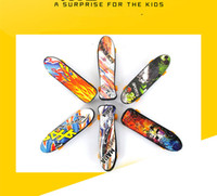Mini Finger Skateboard Fingerboard para Tech Deck Alloy Stents Scrub Finger Scooter Skate Boarding Classic Game Boys Toys
