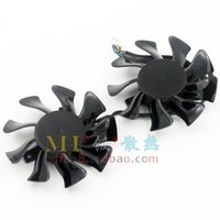 Wholesale Graphics Card Free - Free Shipping Galaxy GTX 760MiNI graphics card cooling fan APISTEK GA82O2H
