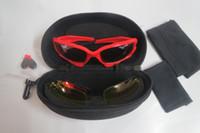 22 fahrrad großhandel-neue Männer Sonnenbrillen Fahrrad Radfahren Brillen Gläser Sport UV400 3 Objektiv Frauen Sonnenbrille Objektiv Schutzbrillen 22 Farben