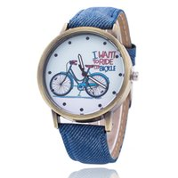 Wholesale Cowboy Buckles Wholesale - Europe and the United States popular cowboy canvas student table Men's and women's bike belt quartz watch of wrist of leisure