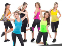 Wholesale Body T - Wholesale-Hot Body Shaper T-shirt majic Stretch Neoprene Slimming Hot Shapers Vest Body Shaper Control Vests sweating Thermo Shaper tops