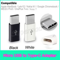 Wholesale Cheapest Micro Usb Adapter - Cheap Type C Micro USB 2.0 High Speed Converter Adapter For Galaxy Note 7 Apple MacBook Letv1S Nokia N1 MEIZU Pro5