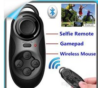 Wholesale bluetooth laptop remote - Bluetooth Gamepad Controller - Bluetooth Controller Joysticks Selfie Remote Shutter Wireless Mouse for iPhone Laptop TV Box VR Glasses
