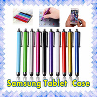 Wholesale touch screen pen mobile for sale - Group buy Stylus Pen Capacitive Touch Screen For Universal Mobile Phone Tablet iPod iPad cellphone iPhone SE S plus MultiColors