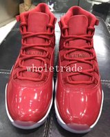 Wholesale Leather Lace For Sale - Free Shipping Mens Shoes 11s 11 Win Like 96 Red basketball shoes Mens Win Like 82 96 sneakers for sale size US 7-13