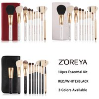 Wholesale best professional makeup foundation - Zoreya Brand Makeup Brushes Professional Cosmetic Brush Foundation Make Up Brush Set The Best Quality