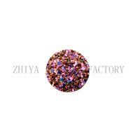 ingrosso druzy cabochon-All'ingrosso-12mm Druzy ab resina rotonda naturale druzy cabochon perline druzy pietra