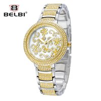 Wholesale Gold Flowered Watch - ap watch Women Watches Flower Top Luxury Quartz Wristwatch Fashion Casual Gold Silver Wholesale For pocket watches for belbi
