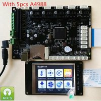 Wholesale Stm32 Tft - Freeshipping STM32 MKS Robin integrated circuit mainboard Robin controller mother board with TFT display closed source software
