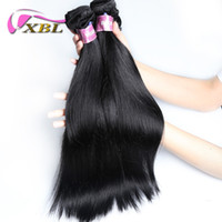 Wholesale Sale Weave - xblhair straight human hair extensions cheap virgin hair bundles malaysian silky straight human hair weave sale