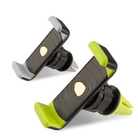 Wholesale Car Mount Rotating Clip - 360 Degree Universal Mini Car Air Vent Clip Mount Holder Rotating for Cellphone phone iPhone 7 6s plus S7 edge Note 5