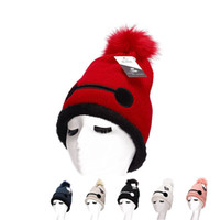 Wholesale Knit Skull Cap Girls - Vintage Girls Ladies women top fashion Fascinator Hats Cute Caps Blend Felt Trilby Hat Knitting wool skull caps