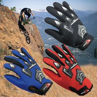 Wholesale Bike Racing Gear - Multicolors Fall Winter Racing Cycling Gloves Full Five Fingers Gloves Outdoors Sports Protective Gear Women Men Bike Gloves