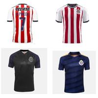 Wholesale Usa Soccer Shorts - 17 18 Chivas Guadalajara soccer jersey 2017 2018 chivas Camiseta de futbol BRIZUELA GULLIT football shirt Free epacket to USA