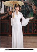 Wholesale Chinese Costume Tang Dynasty - Chinese-style costume fairy costume The tang dynasty ancient hanfu costumes Classical dance princess high-ranked imperial concubine dress
