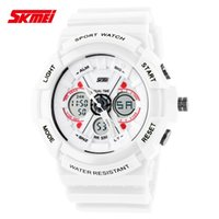 Wholesale Ladies Dive - Shock Digital Analog Watches Men Women LED Electronic Day 50m Dive Army G type Sport Watch Relogio Masculino Feminino Lady White
