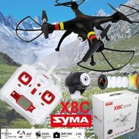 Syma X8C 6 axes 4CH Remote Control Venture RC 2MP Camera Drone Helicopter