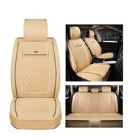 Wholesale Mitsubishi Outlander Cover - ( Front + Rear ) Luxury Leather car seat covers For Mitsubishi ASX Lancer SPORT EX Zinger Outlander auto accessories car styling