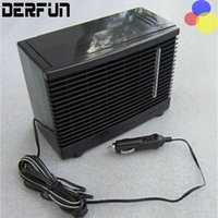 Wholesale Water Fan Misting - Car water cooler auto cooling fan humidifier air purifier. Portable car water air conditioning mist fan DC 12V conditioner for car charger