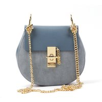 Wholesale Multi Body Chain - 2016 women genuine leather crossbody bag lady real leather shoulder bag cow leather multi-color, free shipping