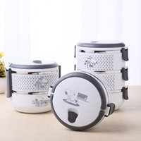 Wholesale Stainless Steel Thermal Lunch Box - 1 Layer Stainless Steel Thermos Bento Lunch Box Children's Tableware Thermal Food Container Food Box Lunchbox Portable