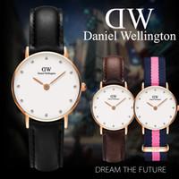 Wholesale Relojes Retro - Watch Women Fashion Casual Leather Strap Women's Quartz Watches Luxury Brand Ladies Retro Dress Wristwatches Lady relojes mujer
