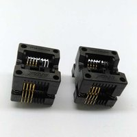 2 pz / lotto SOP8 Burn in Socket IC Presa per test 150mil Pitch 1.27mm OTS-16-1.27-03 Programmer Adapter