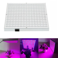 Wholesale Grow Light 24v - 2016 NEW Big Promition Blue+Red 45W 225 LEDs Led Grow Light AC85-265V Led Growing Lamp Plant Light