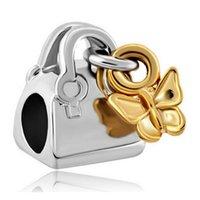 ingrosso borsa europea di fascino-Bracciale charm charm Pandora Chamilia Biagi in oro bicolore con placcatura in oro bicolore dalla fabbrica direttamente