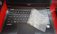 Wholesale Keyboard Europe - Factory wholesale cool, MSI MSI GS40 laptop transparent thin kill anti-microbial keyboard protective film, now in Europe and the United Stat