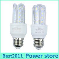 Wholesale E14 Led Small - Small Order 10PCS E27 5W LED Corn Light Bulbs U Shape Lamp Energy Saving White Warm White for living room hallway hotel kitchen